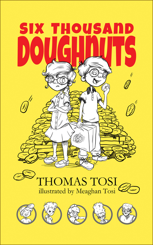 six thousand doughnuts front cover
